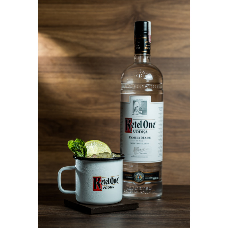 Combo Moscow Mule Ketel One + caneca